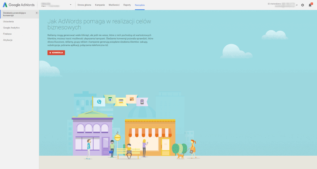Konwersje – Google AdWords
