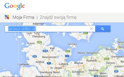mapka google moja firma