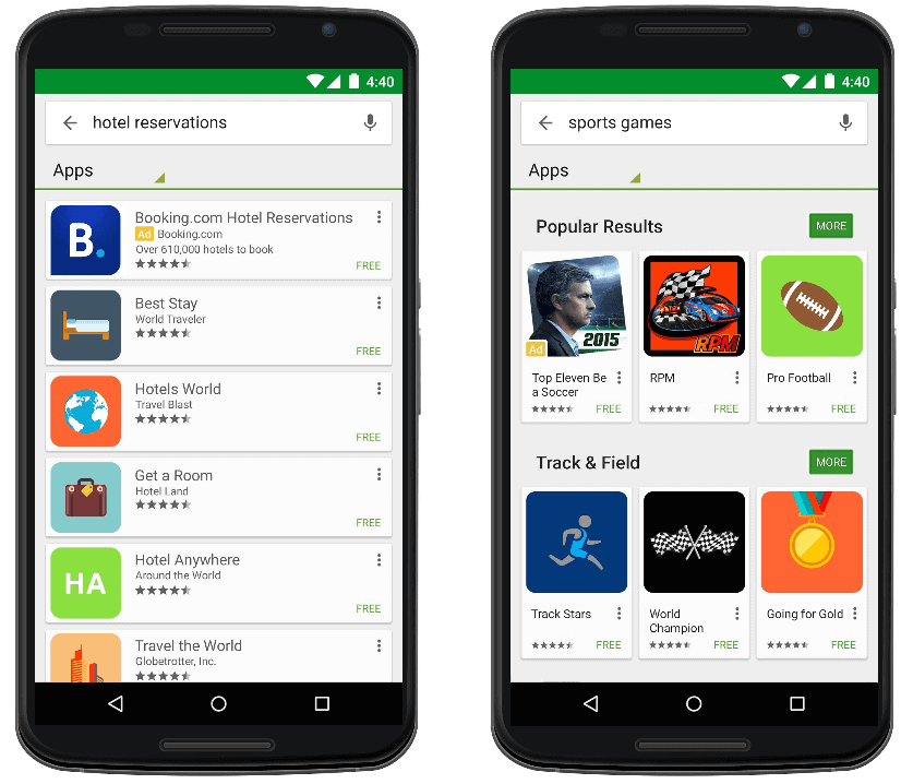 search ads google play adwords