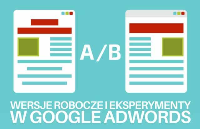 Testy A/B w Google AdWords